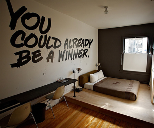 Ideen f r coole m nnerbuden sweet home for Funky hotels chicago