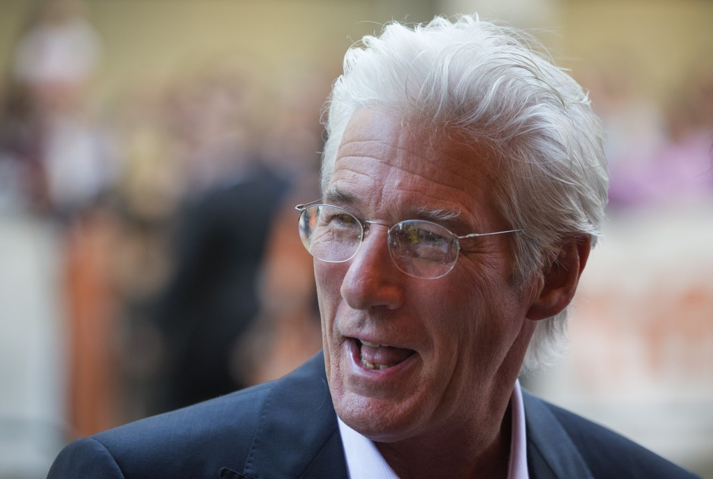 Attraktiv in Grau: Schauspieler Richard Gere. Foto: Reuters