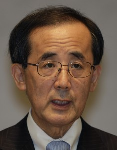 Inflationsziel von 1%: Masaki Shirakawa, Gouverneur der Bank of Japan.