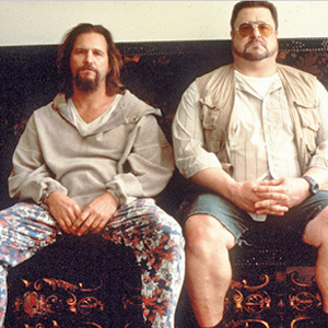 Jeff Bridges und John Goodman im Film The Big Lebowski.