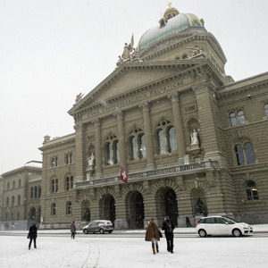 Bundeshaus in Bern. (Keystone)