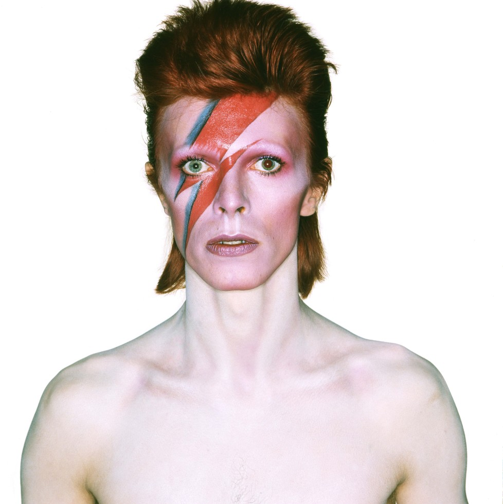Album_cover_shoot_for_Aladdin_Sane_1973_Photograph_by_Brian_Duffy__Duffy_Archive . German magazines and newspapers please report usage. To contact us, email: info@allpix. com (KEYSTONE/Allpix Press/ Cineliz)