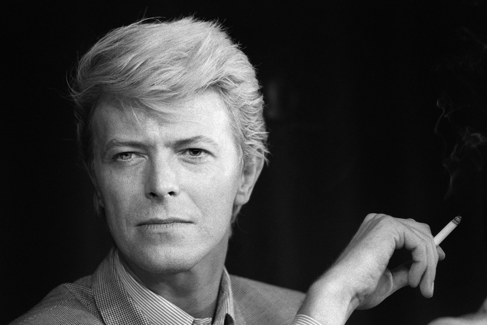 (FILES) This file portrait taken on May 13, 1983 shows British singer David Bowie during a press conference at the 36th Cannes Film Festival. According to official social media accounts on January 11, 2016, British music legend David Bowie has died. AFP PHOTO / FILES / RALPH GATTI / AFP / RALPH GATTI