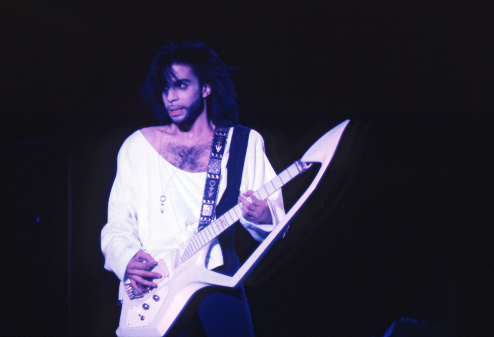 Prince Rogers Nelson 1986, (born June 7, 1958) is an American singer and musician. He performs under the mononym of Prince. 10/10/86 Photo: Chris van de Vooren / SUNSHINE SUNSHINE International Photo Agency www.sunshinephoto.nl (FOTO:DUKAS/SUNSHINE)