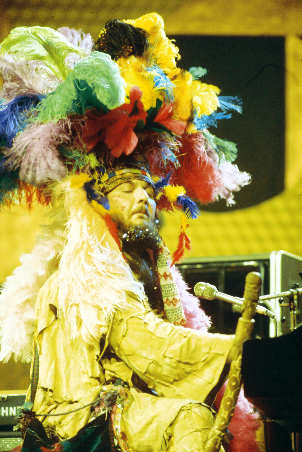 MONTREUX, SWITZERLAND - 1st JULY: American musician Dr. John performs live on stage at the Montreux Jazz Festival in Montreux, Switzerland in July 1973. (Photo by David Warner Ellis/Redferns)