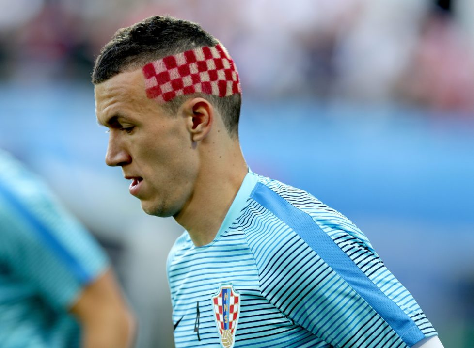 epa05390784 Ivan Perisic of Croatia prior the UEFA EURO 2016 round of 16 match between Croatia and Portugal at Stade Bollaert-Delelis in Lens Agglomeration, France, 25 June 2016. (RESTRICTIONS APPLY: For editorial news reporting purposes only. Not used for commercial or marketing purposes without prior written approval of UEFA. Images must appear as still images and must not emulate match action video footage. Photographs published in online publications (whether via the Internet or otherwise) shall have an interval of at least 20 seconds between the posting.) EPA/MOHAMED MESSARA EDITORIAL USE ONLY
