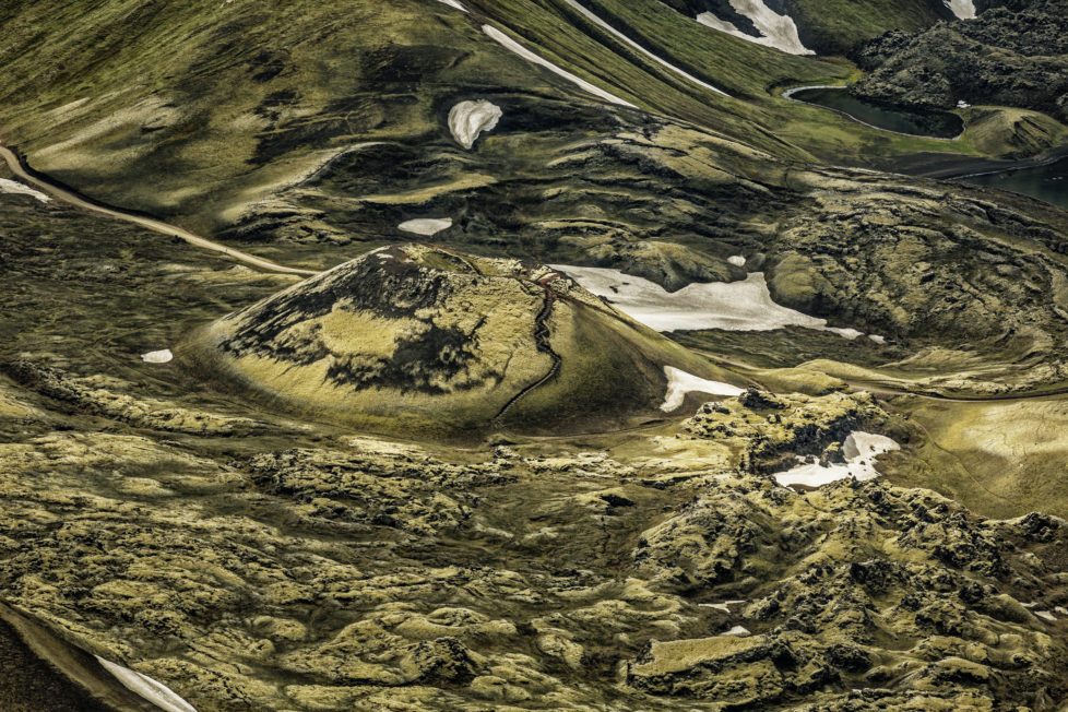 Volcanic landscape in the Central Highlands, Landmannalaugar, Iceland. Landmannalaugar is in the Fjallabak Nature Reserve and filled with beauty and wonder.